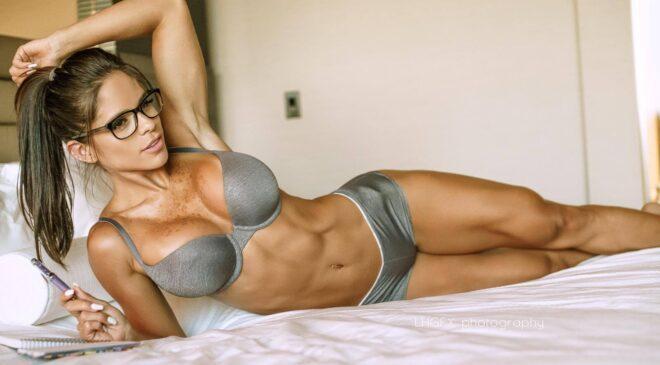 Caucasian Fitness Models